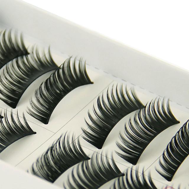 Augenwimpern 10 pcs Voluminisierung Augenwimpern Klassisch Alltag Bilden Kosmetikum