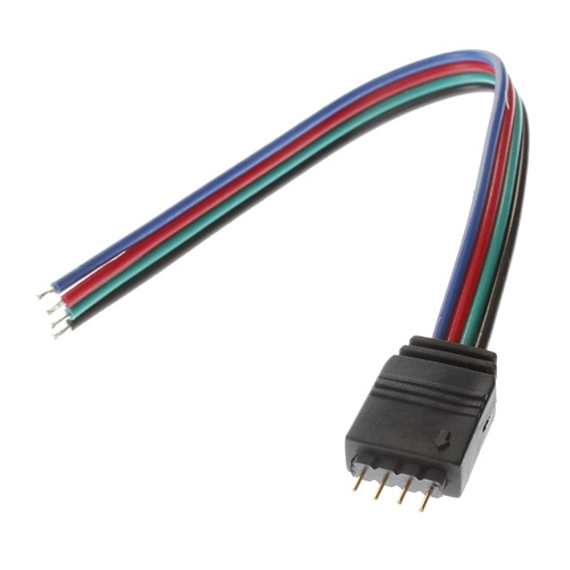 1 buc Accesorii pentru iluminat ABS Cablu electric