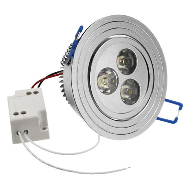 SENCART 1 buc 6500 lm 3 LED-uri de margele LED Putere Mare Alb Natural 85-265 V / #