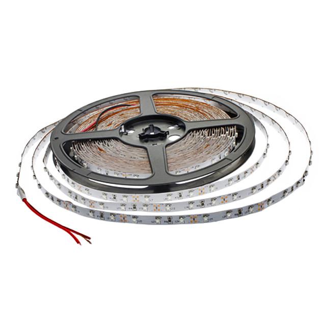 ZDM® 2x5M Fâșii De Becuri LEd Flexibile 300 LED-uri 2835 SMD 2pcs Roșu Ce poate fi Tăiat / Petrecere / Decorativ 12 V / Auto- Adeziv