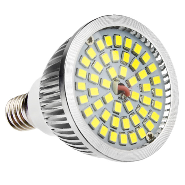 6 W Spoturi LED 500-300 lm E14 MR16 48 LED-uri de margele SMD 2835 Alb Natural 100-240 V