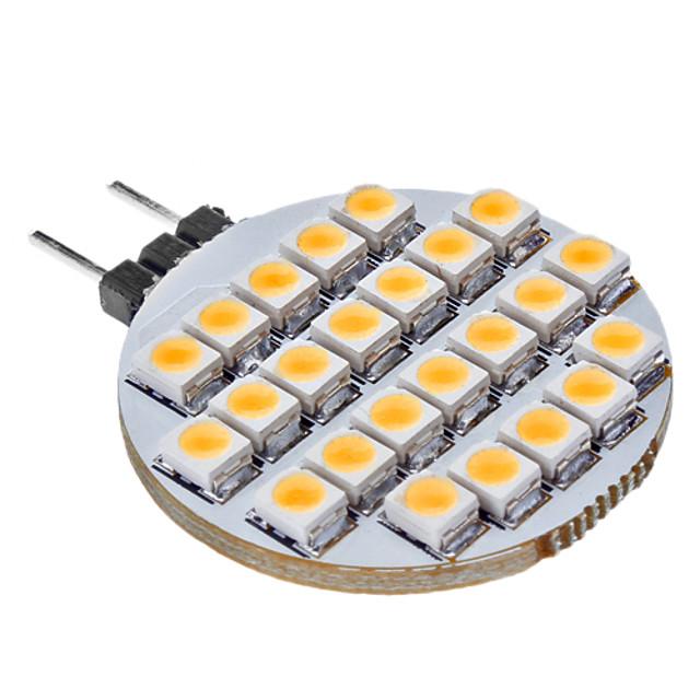SENCART 1 buc 3 W Becuri LED Bi-pin 3000 lm G4 25 LED-uri de margele Alb Cald 12 V