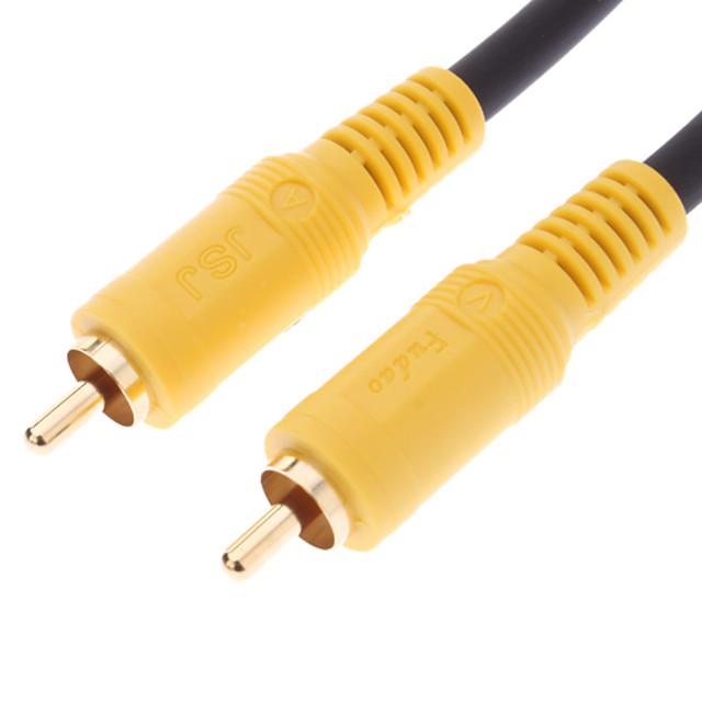 jsj® 10m 32.8ft RCA de sex masculin la masculin cablu video negru pentru DVD home theater