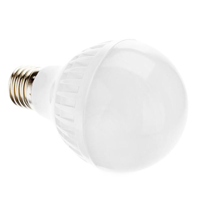 Bulb LED Glob 2700 lm E26 / E27 A70 22 LED-uri de margele SMD 3014 Alb Cald 100-240 V
