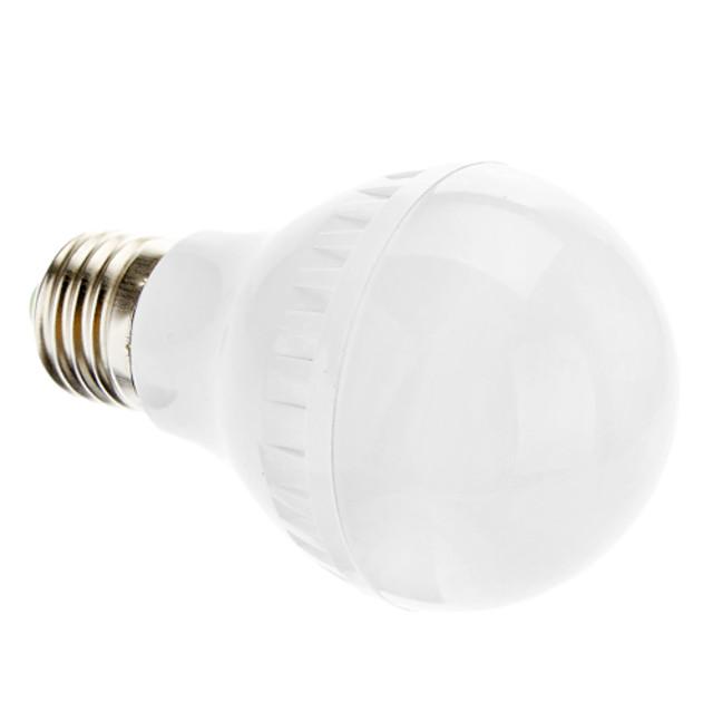 Bulb LED Glob 2700 lm E26 / E27 A60(A19) 46 LED-uri de margele SMD 3014 Alb Cald 220-240 V