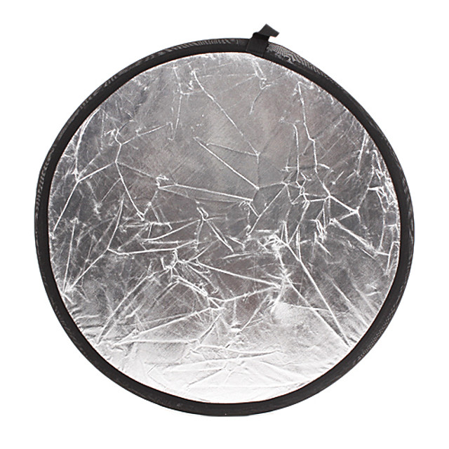 Gold Silver Reflective Plate 60cm