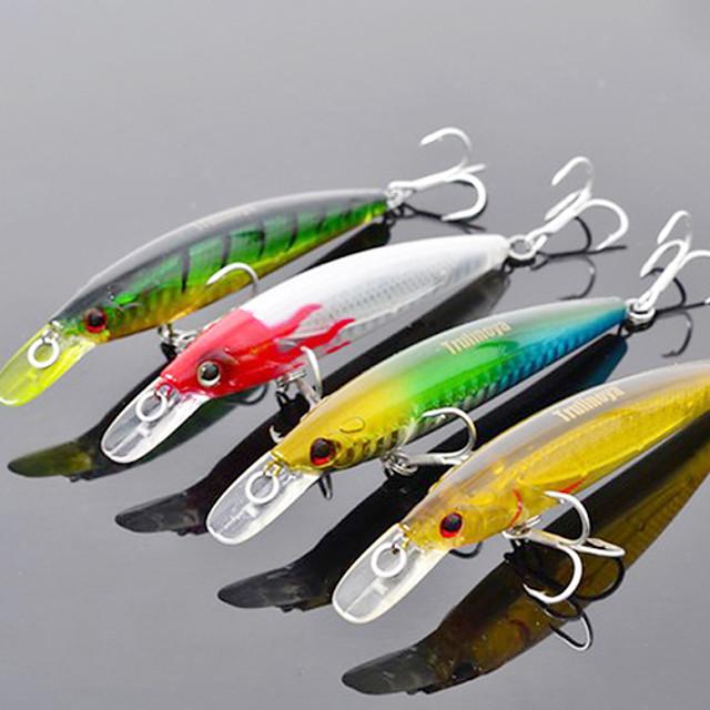 1 pcs Δόλωμα Momeală Dură Plevușcă Bass Păstrăv Ştiucă Pescuit mare Pescuit de Apă Dulce Plastic Dur