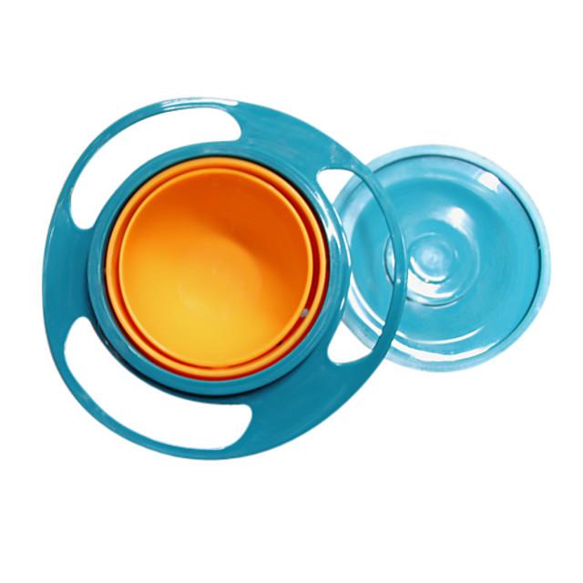 gravitație castron vopsea rezistent copii gustare alimente cap de farfurie nici o masina de spalat vase