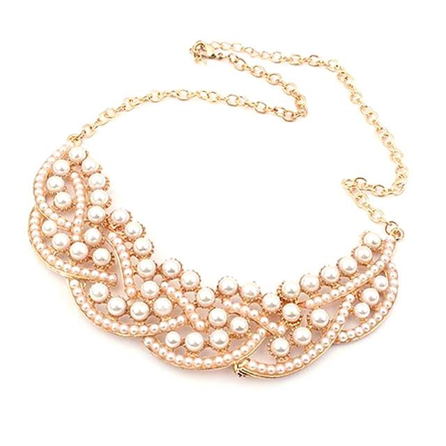 Pentru femei Perle Coliere cu Pandativ / Guler - Perle femei, Lux, European Coliere Bijuterii Pentru Petrecere