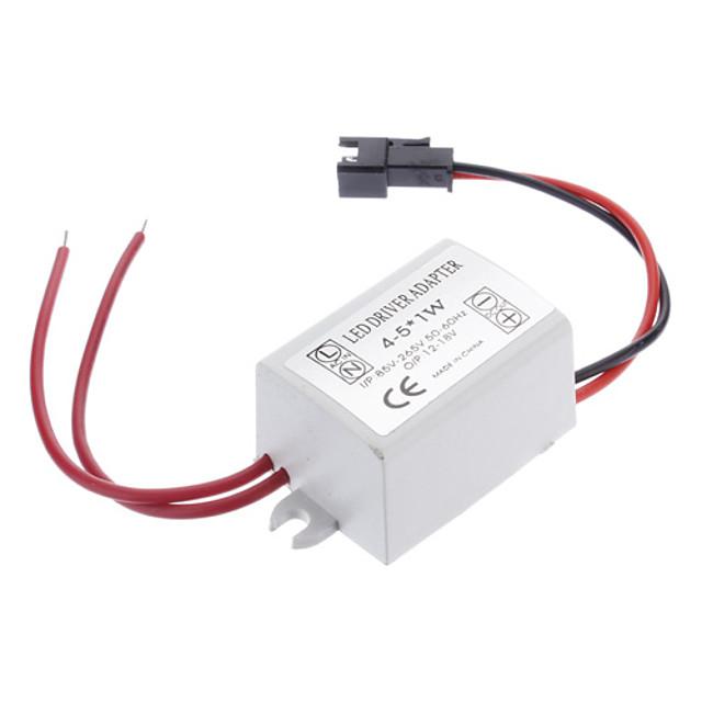 zdm 0.3a 4-5w dc 12-16v ถึง 85-265v นำโคมไฟเพดานภายนอกโคมไฟเพดานหลอดไฟขับกระแสไฟฟ้าในปัจจุบัน