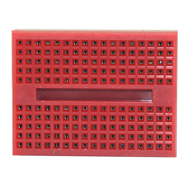BBR004 Mini Breadboard for (For Arduino) Proto Shield (Works with Official (For Arduino) Boards)