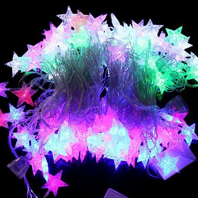 5m Fâșii RGB / Fâșii de Iluminat 28 LED-uri Dip Led RGB Petrecere / Decorativ / De Legat 220-240 V 1set / IP44