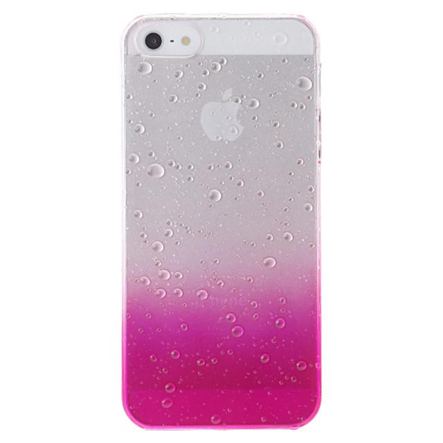 Maska Pentru iPhone 5 / Apple Carcasă iPhone 5 Transparent / Model Capac Spate culoare Gradient Greu PC pentru iPhone SE / 5s / iPhone 5