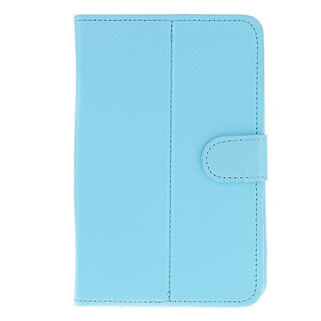 PU piele de protecție Tablet Case (albastru pur) pentru Eran Tablet PC