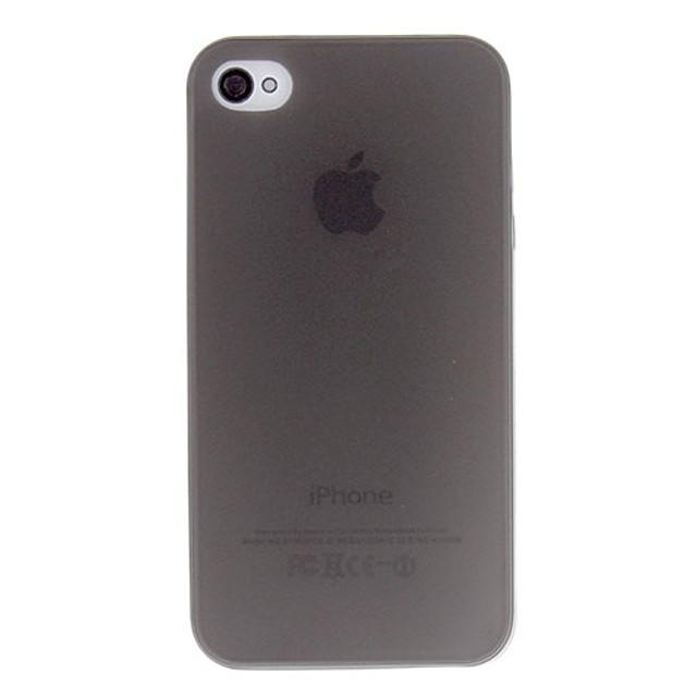 Кейс для Назначение iPhone 4/4S / Apple iPhone 4s / 4 Кейс на заднюю панель Мягкий ТПУ