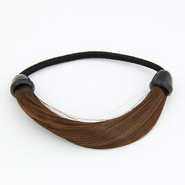 Pentru femei Elastice de păr Pentru Petrecere Zilnic Material Textil Negru Galben Cafea