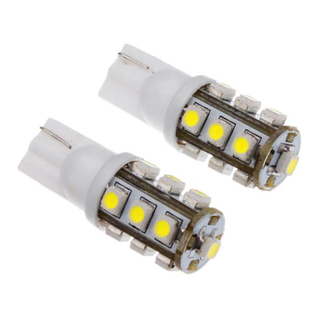 2pcs T10 Mașină Becuri SMD 3528 50-80 lm Lumini de interior Pentru Παγκόσμιο