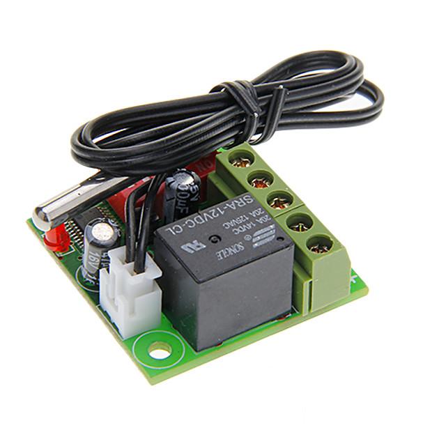 W1701 Temperature Detect Switch + Waterproof Probe (DC 12V)
