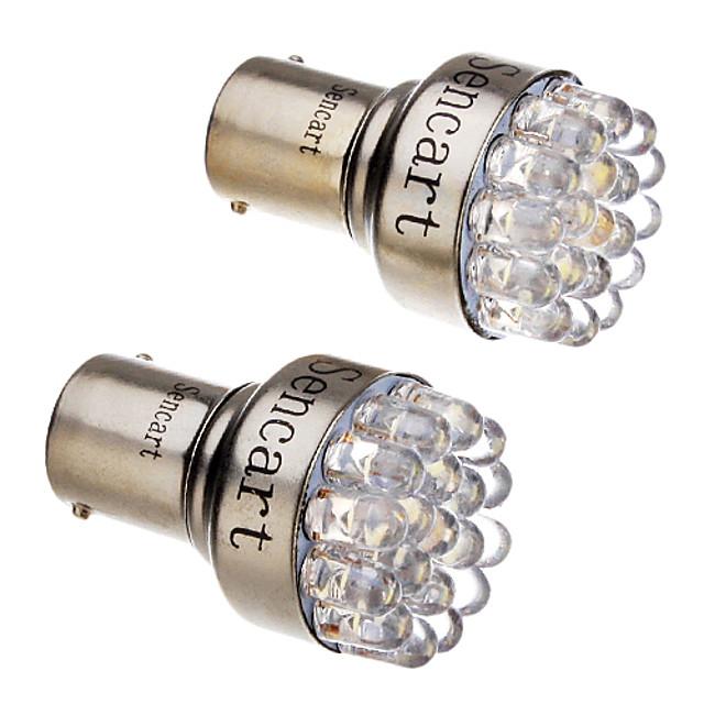 SO.K 10pcs Conexiune prin cablu Mașină Becuri 3 W F3 150 lm 12 LED coada de lumină Pentru Παγκόσμιο