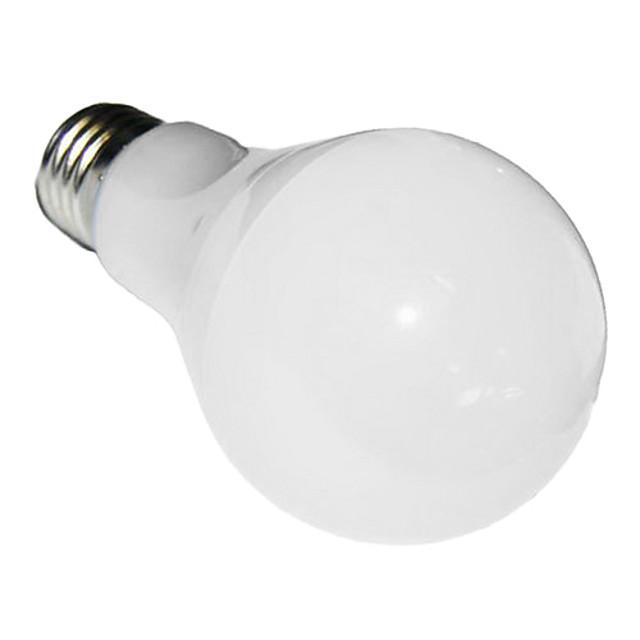 5W 425-800lm E26 / E27 LED Globe Bulbs A60(A19) 32 LED Beads SMD 5730 Cold White 85-265V