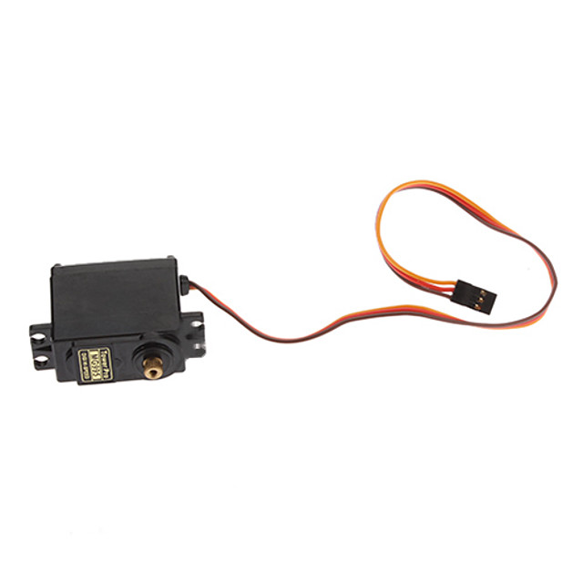 360 Degree MG995 Gear Servo for Robot Remote Control Cars 55G Kobber