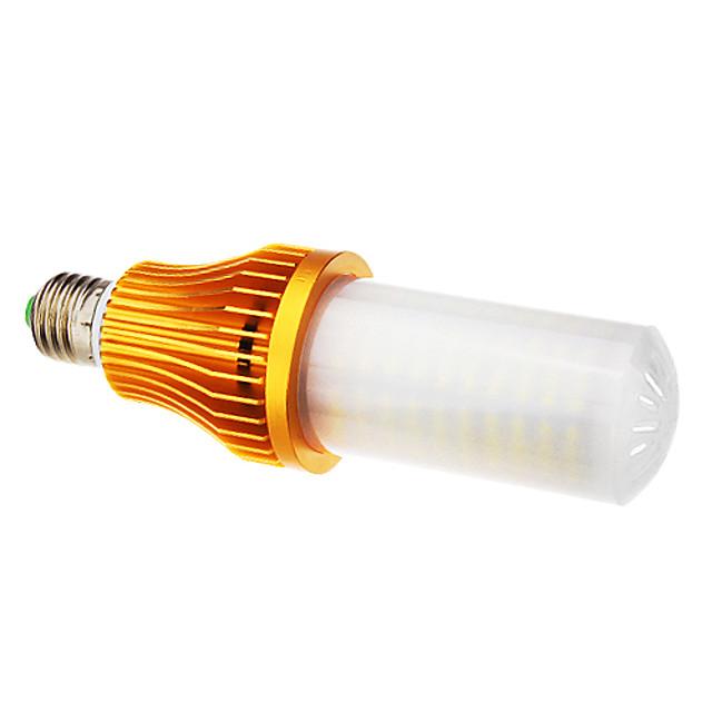 Becuri LED Corn 1600 lm E26 / E27 T 260 LED-uri de margele SMD 3528 Alb Cald Alb Rece