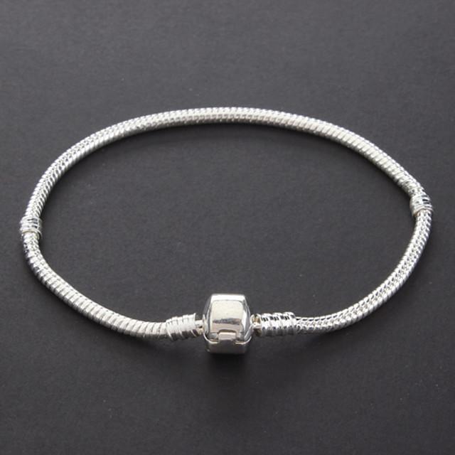 Pentru femei Brățări cu Lanț & Legături Bratari Vintage Argilă Bijuterii brățară Argintiu Pentru Cadouri de Crăciun Petrecere
