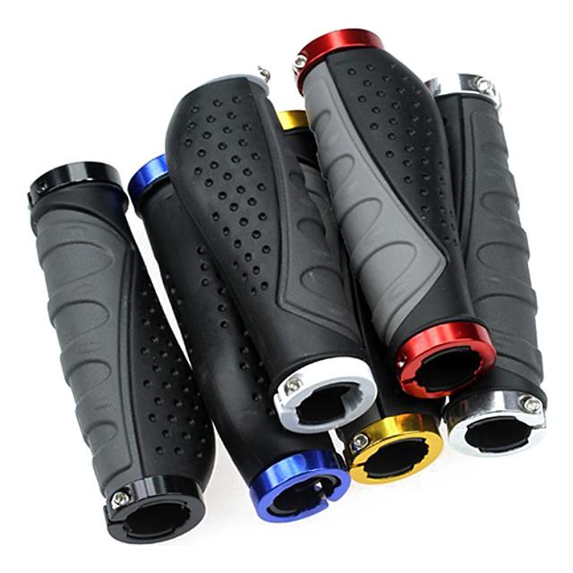 Empuñaduras Bicicleta de Montaña Caucho / Aleación de aluminio Amarillo / Rojo / Azul