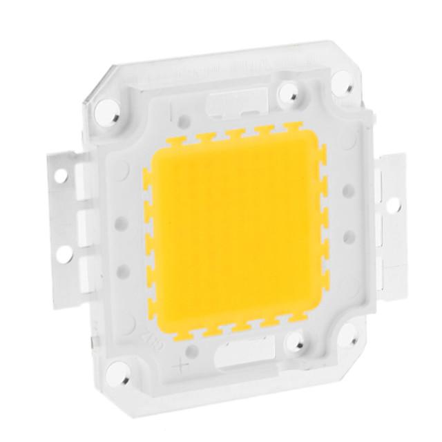 jiawen de înaltă putere integrate 80w dc 30-36v aluminiu led lămpi cip pentru reflector lumina reflectoarelor cald alb 3000-3500k