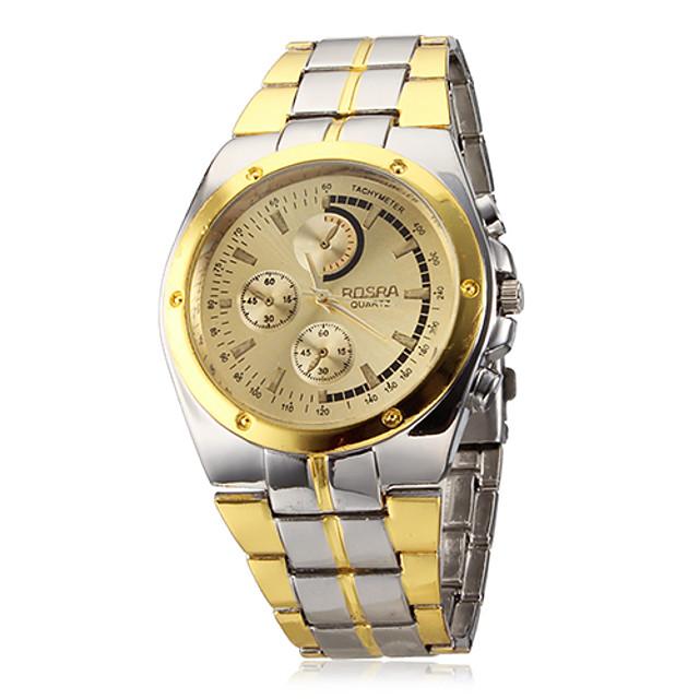 Bărbați Ceas de Mână Aviation Watch Quartz Charm Ceas Casual Argint / Auriu Analog - Alb Negru Auriu Doi ani Durată de Viaţă Baterie / SOXEY SR626SW