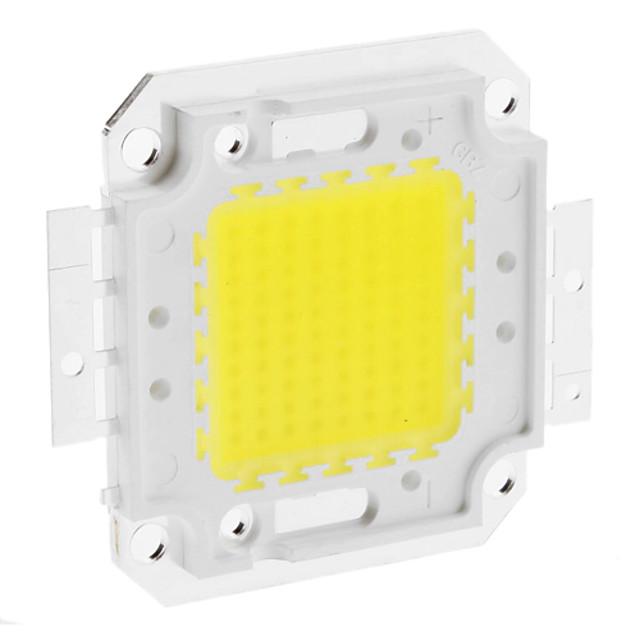 diy 80w 6350-6400lm 2400ma 6000-6500k modul integrat de lumină albă rece (30-36v)