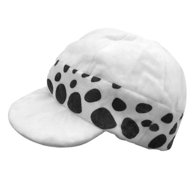 Pălărie / Șapcă Inspirat de One Piece Trafalgar Law Anime Accesorii Cosplay Pălărie Poliester Bărbați Costume de Halloween