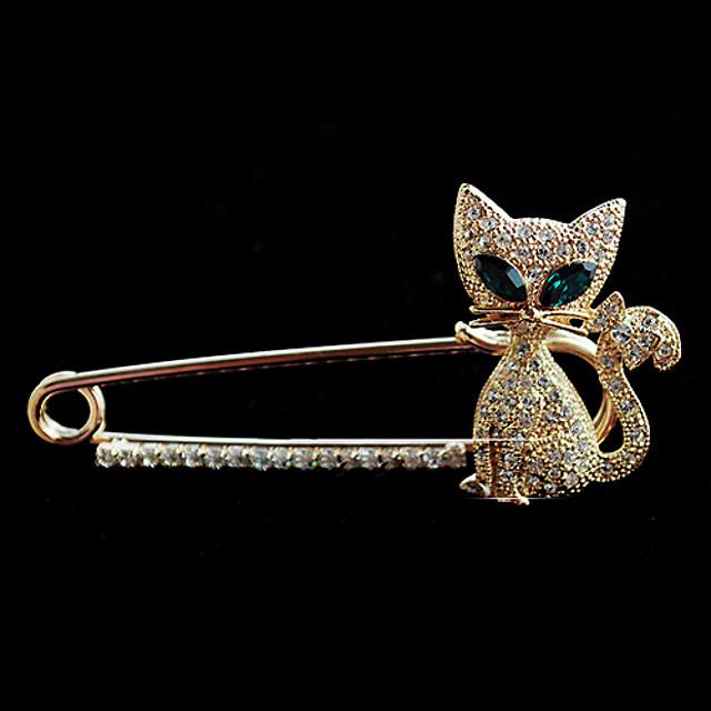 Pentru femei Modă Cristal Broșă Bijuterii Pentru Petrecere Nuntă Zilnic