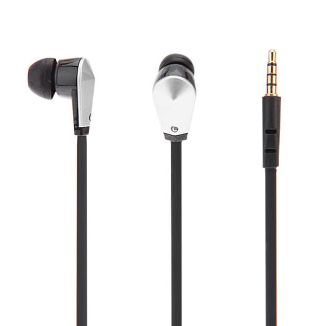 SJ101 În ureche Cablu Căști Dinamic Plastic Telefon mobil Cască Cu Microfon Setul cu cască