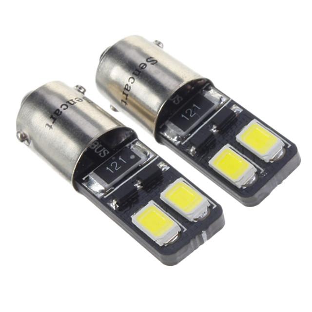 2pcs BAX9S Mașină Becuri 1.5 W SMD 5630 90 lm 4 LED Luminile de margine laterale Pentru