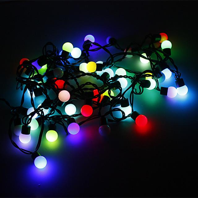 5m Fâșii de Iluminat 50 LED-uri RGB Schimbare - Culoare 220 V