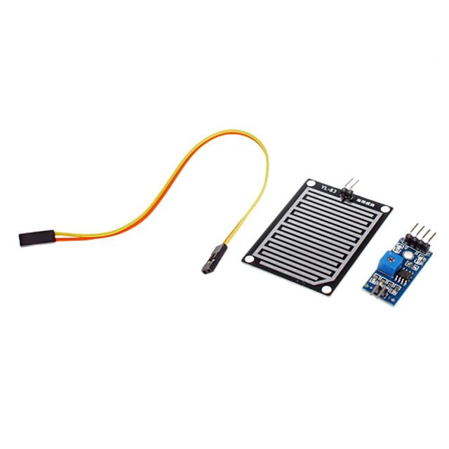 Modul senzor de ploaie modul vreme sensibilitate il-83 pentru (pentru Arduino) interfață