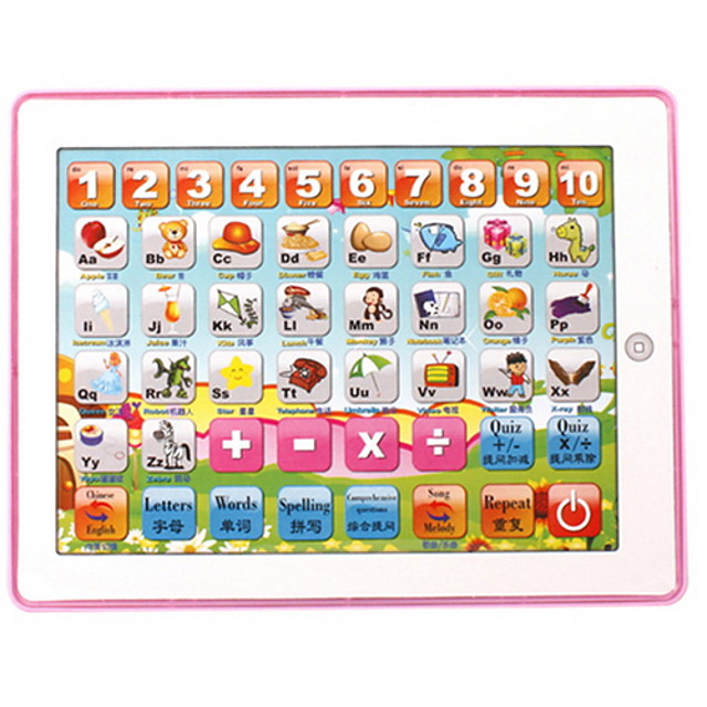 Chinese/English Initial Teaching Machine For Children(With Light)