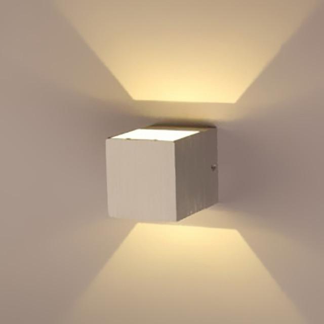 BriLight Modern contemporan Coridor Metal Lumina de perete 1 W / LED Integrat