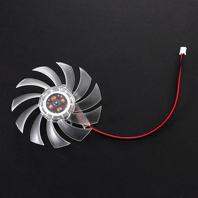 8cm plastique Fan Graphics