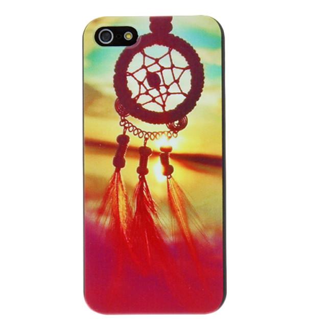 Maska Pentru iPhone 5 / Apple iPhone SE / 5s / iPhone 5 Model Capac Spate Prinzător de vise / Floare Greu PC