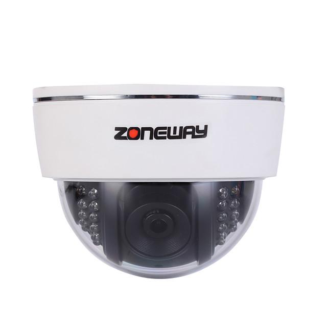 zoneway® 2.0 mp dome de interior cu zi de noapte ir-tăiat de noapte de detectare a mișcării de noapte cu dublu stream ir-tăiat plug and play)