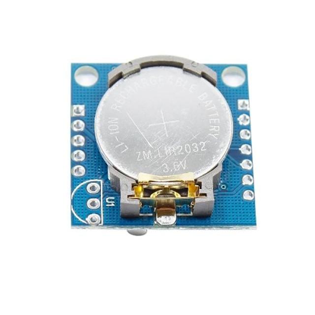 I2C RTC DS1307 sat u realnom vremenu modul za (za Arduino) (1 x lir2032)