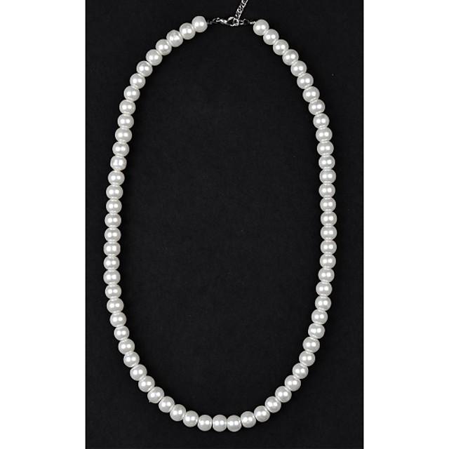 Pentru femei Perle Coliere Colier Κολιέ με Πέρλες femei Perle Imitație de Perle Cristal Coliere Bijuterii Pentru Nuntă Petrecere Zilnic Casual