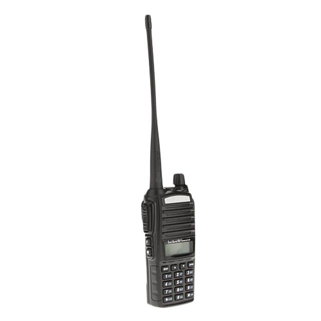 baofeng uv-82 uhf / vhf 400-480 136-174mhz 8w dual band ani code dsp radio cu două sensuri handheld walkie talkie interfon lcd display dublu band cu iluminare cu lanternă