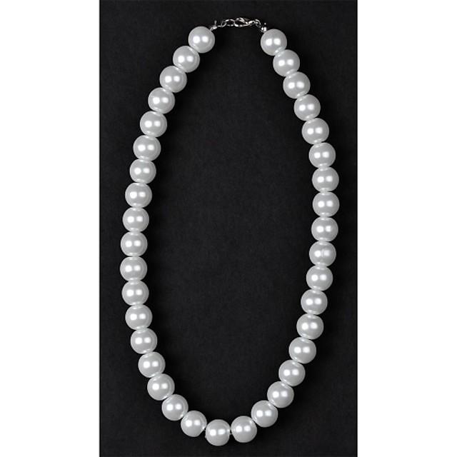 Pentru femei Perle Coliere Colier Κολιέ με Πέρλες femei Perle Imitație de Perle Argintiu / negru Cristal Coliere Bijuterii Pentru Nuntă Zilnic Casual