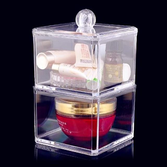 Stoc de Cosmetice Drawears detașabile / 2 Nivele Machiaj 1 pcs Teracotă Altele Clasic Zilnic Cosmetic Accesorii de Ingrijire