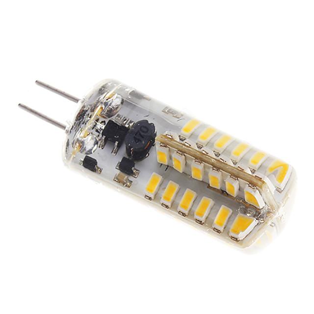 Spoturi LED 150-170 lm G4 48 LED-uri de margele SMD 3014 Alb Cald 12 V