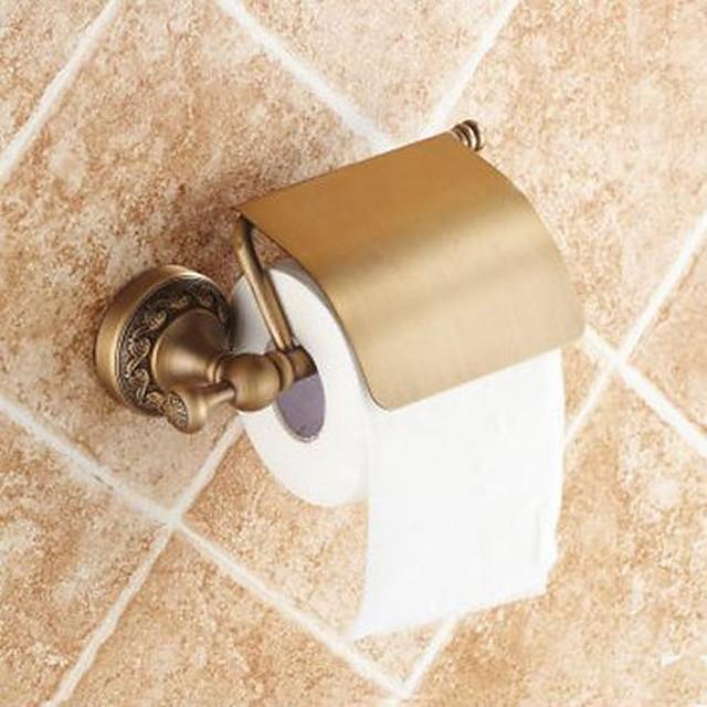 Suporturi De Hârtie Igienică Tradițional Alamă 1 piesă - Hotel baie