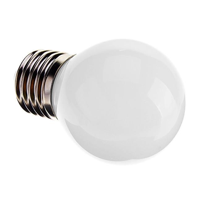 1 buc 3 W Bulb LED Glob 120-150 lm E26 / E27 G45 9 LED-uri de margele SMD 2835 Decorativ Alb 220-240 V / RoHs